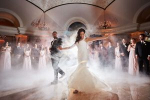 oprawa tanca weselnego przez dj-a